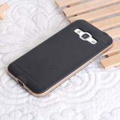 Slim Heavy Duty Rugged Armor Phone Case Hybrid Frame Silicone Bag Cover For Samsung Galaxy J3 2016 J 3 J320 J320F J320H J320FN