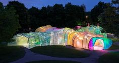 西班牙SelgasCano建築師事務所 設計2015年Serpentine Gallery Pavilion | 準建築人手札網站 Forgemind ArchiMedia