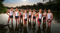 In honor of International Women's Day, Sports Illustrated showcases portraits back through the years on our outstanding women athletes. Olympic Rowing, Women's Rowing, Rowing Team, Olympic Team, Us Olympics, Rio Olympics 2016, Summer Olympics, Row Row Your Boat, Row Row Row