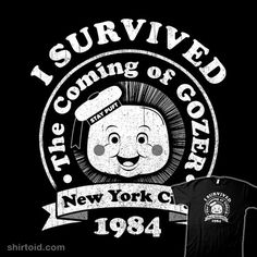 Survivor 1984 by rbucchioni                                                                                                                                                      More Ghostbusters Party, The Real Ghostbusters, Movie Shirts, Film School, Movie Tv, 80s Movies, Movie Reels, Comic, Ghost Busters
