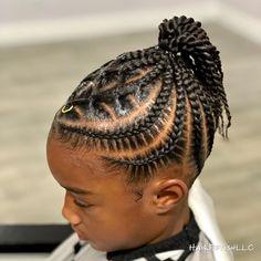 😍 Braids so crisp! - Hairstyles from Samantha Toddler Braided Hairstyles, Lil Girl Hairstyles, Black Kids Hairstyles, Natural Hairstyles For Kids, Black Hair Tips, Braids For Black Hair, Braids For Kids, Girls Braids, Curly Hair Styles