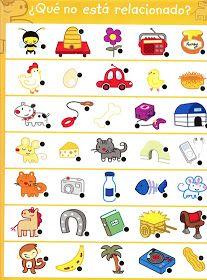 APOYO ESCOLAR ING MASCHWITZT CONTACTO TELEF 011-15-37910372: ACTIVIDADES COGNITIVAS (CUANTOS HAY ?,QUE COMEN? ... 3 Year Old Activities, Montessori Activities, Preschool Activities, Language Activities, Spot The Difference Kids, Chore Chart Kids, Hidden Pictures, Learning Through Play, Elementary Schools