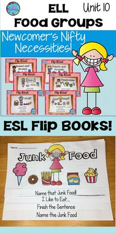Help make your English Language Learner's transition into your classroom easier by using these engaging Flip books for ESL students of all ages! Kindergarten Teachers, Kindergarten Activities, Classroom Activities, Classroom Ideas, English Language Learners, Language Arts, Elementary Education, Bilingual Education, First Grade Science