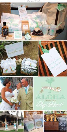 Hawaii Destination Wedding Welcome Bag Ideas : Destination Wedding Invitation on Pinterest Destination Wedding ...