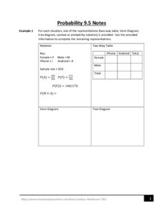Venn diagram worksheets name the shaded regions using three sets probability lesson 4 of 4 ccuart Image collections