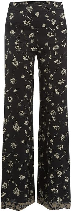 Etro Wide Leg Printed Pants Printed Pants, Wide Leg, Pajama Pants, Pajamas, Legs, Stylish, Women, Fashion, Printed Trousers