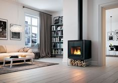 Palazzetti: nuove stufe a legna e pellet #Fireplace