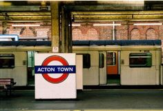 Acton Town Tube Station in London