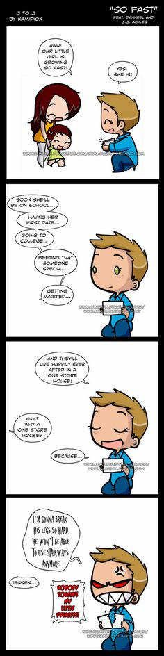 J to J: So Fast by KamiDiox He knows JJ will be able to take care of herself.