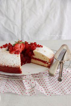 Victoria Sponge Cake & Confit de Fraises...<3