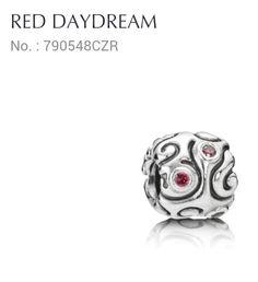 Pandora Charm red daydream. So pretty