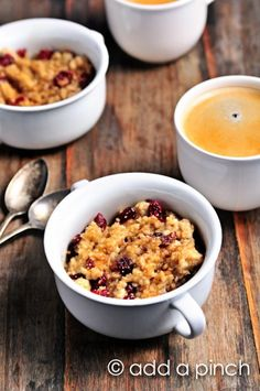 Bruleed Cherry Oatmeal Recipe - Cooking   Add a Pinch