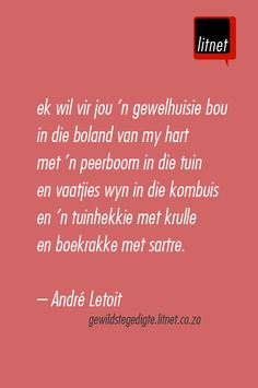 Gewelhuisie..... Favorite Quotes, Best Quotes, Writing Lyrics, Library Quotes, Afrikaanse Quotes, Songs To Sing, Beautiful Words, Wise Words, Verses