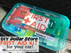 DIY Dollar Store First Aid Kit