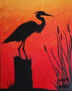 Blue Heron – at Famous Dave's (Laurel)