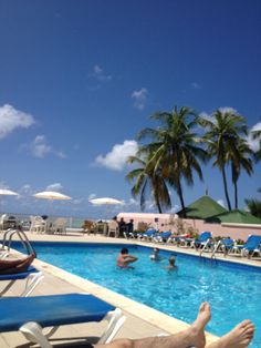 Pool at butterfly beach hotel barbados