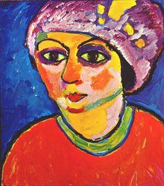jawlensky the violet turban 1911. Алексей фон Явленский
