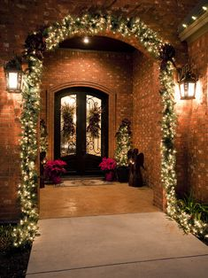 Front Porch Design, Pictures, Christmas/Holiday decorating