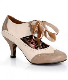 My goodness, my Grable! A truly divine pair of vintage inspired pumps, the Grable heels are a leatherette duo in stunnin...Price - $88.00-LtdRKwPL