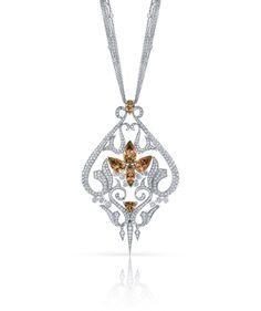 Stephen Webster Zultanite and Diamond Pendant