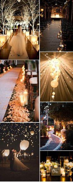 romantic themed wedding decorations