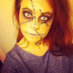 Voodoo Doll Makeup images & pictures - NearPics