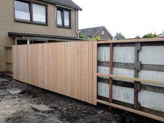Garden Fence Panels, Diy Fence, Backyard Fences, Garden Fencing, Backyard Landscaping, Fence Design, Garden Design, House Design, Outside Decorations