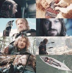 Boromir's journey.