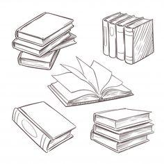 Bullet Journal Ideas Pages, Bullet Journal Inspiration, Book Journal, Tattoo Schwarz, Doodle Art, Doodle Frames, Retro Design, Book Illustration, Vintage Books