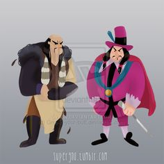 Shan Yu and Governor Ratcliffe