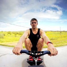 Pete Reed Team GB rower, double Olympic gold medallist trains with Fitbit Surge