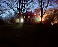 """""""Rohers House, Franklin Lakes, New Jersey"""" """" from the series Haunted Houses, 2010"""