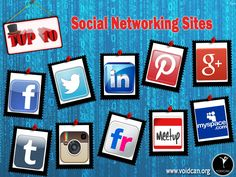 Voidcan.org brings you the list of top ten social networking websites and all the information regarding social networking websites which makes them best. List is researched by our websites experts.