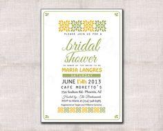 Bridal Shower Invitation Custom Printable on Etsy, $15.00