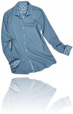 Camicia effetto jeans.  Seguici su #RedisRappresentanze www.redisrappresentanze.it