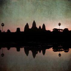 Angkor Wat 4:34 by Nadia Attura   Artfinder