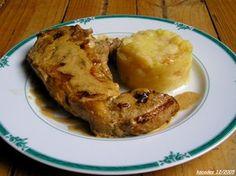 Côte de veau sauce normande