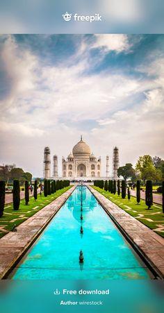 Travel And Tourism, Agra, Free Photos, Taj Mahal, Shots, Sky, India, Stock Photos, Mansions