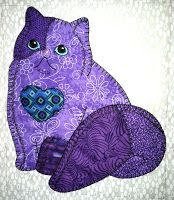 Anna's Awesome Appliques: Two more Patch Cats