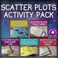Check out awesome ideas and resources for helping students get hands-on and gain confidence with scatter plot graphs.