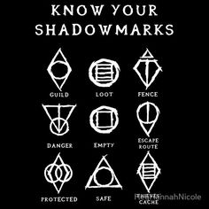 Know Your Shadowmarks Skyrim shirt by HeyHannahNicole