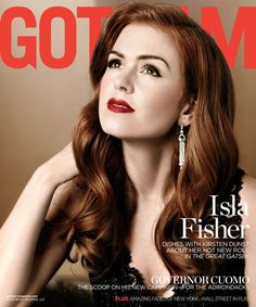 """Trendy Hair Style 2017/2018 :    Isla Fisher on """"Incredible"""" Motherhood and """"Important Collaborations"""" With Her Husband   Get her Gotham interview here!  - #HairStyle https://youfashion.net/trends/hair-style/trendy-hair-style-isla-fisher-on-incredible-motherhood-and-important-collaborations-with-her-h/"""