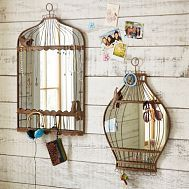 cute idea. why not have a mirror right there when putting on your jewlery...