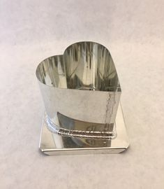 SCALLOP FLOATING CANDLE MOLD METAL