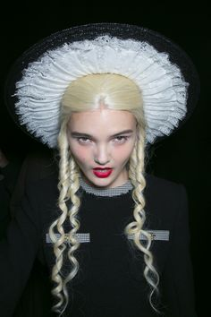 Meadham Kirchhoff Backstage S/S '14