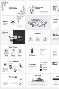 Minimal Clean Business Presentation PowerPoint Template 45 Unique Custom Slides HD Ratio Master Slide Layout All Elements & Icons included Professional, Creative, Clean, Modern & Corporate design Drug & Drop Image Replace Used free font link included Powerpoint Layout, Creative Powerpoint Presentations, Powerpoint Design Templates, Keynote Template, Powerpoint Examples, Professional Powerpoint, Corporate Design, Corporate Branding, Identity Branding