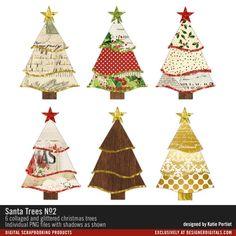 - Santa Trees No. 02