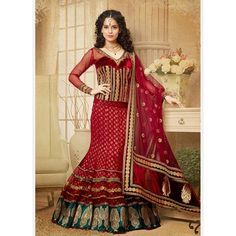 Shop online for lehenga style saree, bridal lehenga direcly from Sytle One India Website. We offers best collection of net lehenga saree with affordable price in USA. Contact us for best deal today. Indian Bridal Sarees, Indian Bridal Wear, Bridal Lehenga Choli, Indian Ethnic Wear, Wedding Sarees, Bollywood Wedding, Indian Style, Bollywood Lehenga, Lehenga Saree