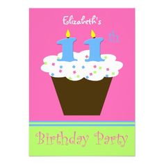 Nice 11th birthday party invitations wording  Download this invitation for FREE at https://www.drevio.com/11th-birthday-party-invitations-wording/