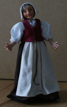 Mary Tudor servant country woman market trader by JendlewickDolls